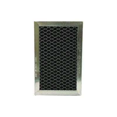 GE JX81J, Replacement Range Hood Charcoal Filter,  3-7/8 x 6-1/8 x 3/8