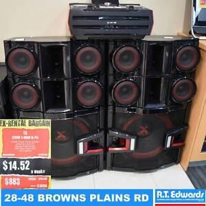 LG 3200W X-BOOM! DJ Pro Sound System with Warranty Browns Plains Logan Area Preview