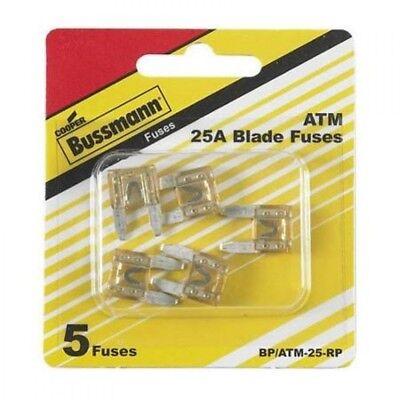 Bussman 25amp Mini Fuse 5pk