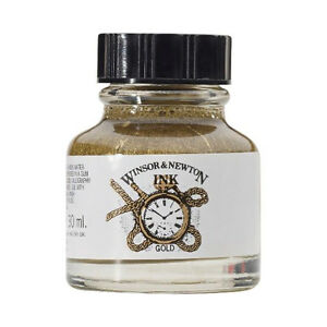 Winsor & Newton Ink 30Ml Gold