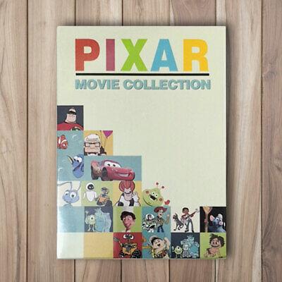 Walt Disney 22 Pixar Movie Collection Lot DVD 11-Disc Box Set Free Shipping