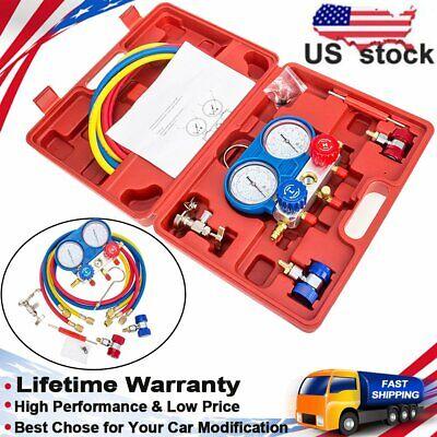 Carbole Ac Refrigeration Kit Ac Manifold Gauge Set Air R12 R22 R134a 410a R404z