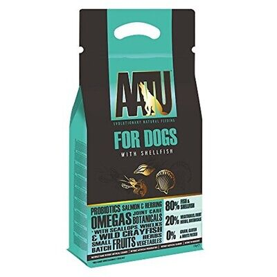 Aatu Dry Dog Food - Shellfish, High Protein, Grain Free Recipe, No Artificial