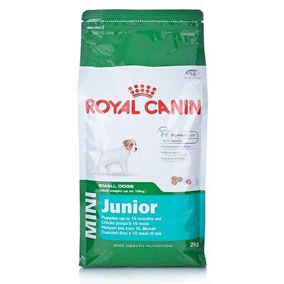 Royal Canin PERRO CACHORRO Alimento Junior Mini Seco bmix 2 kg segunda mano  Embacar hacia Argentina