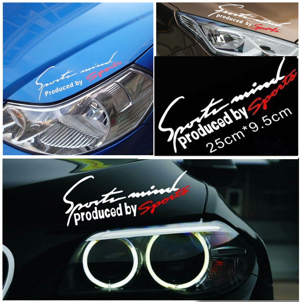E9AD 2pcs Car Stickers Decal Rearview Mirror Decorative Stickers Cars Auto
