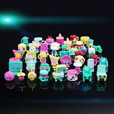 Lot Of 50Pcs Shopkins Of Season 5 Soft Loose Famalily Toys For Kids Girls Gift