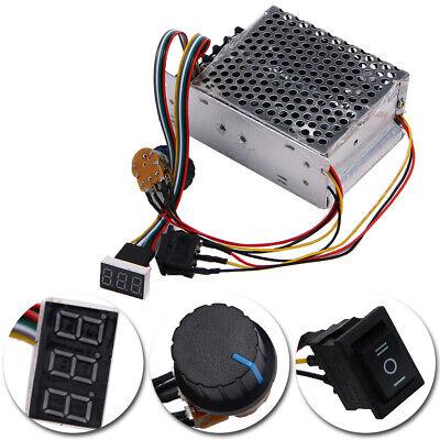 Dc 10-55v 12v 24v 36v 60a Pwm Motor Speed Controller Cw Ccw Reversible Us Stock