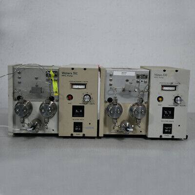 Lot Of 2 Waters 510 Hplc Pumps