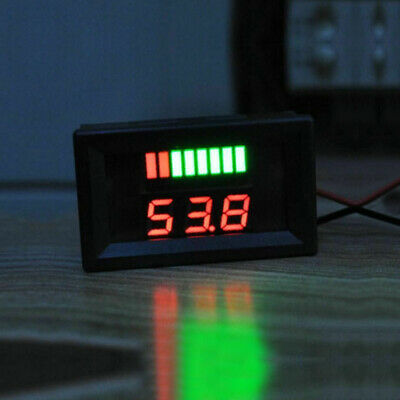 1x Car Motorcycle Boat 12V-60V LED Digital Voltmeter Voltage Meter Battery Gauge