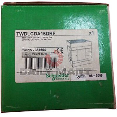 New Schneider Twdlcda16drf Compact Plc Base 24Vdc Supply Complete System