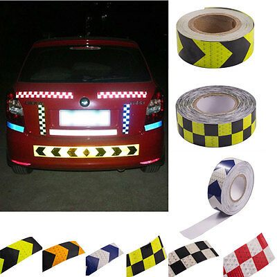 1x Car Safety Reflective Self Adhesive Hazard Caution Warning Tape Roll covid 19 (Caution 1 Roll coronavirus)