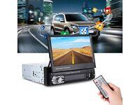 "Universal 9601G 7"" Car Multimedia MP5 Player GPS Bluetooth Radio SD USB+EU Map"