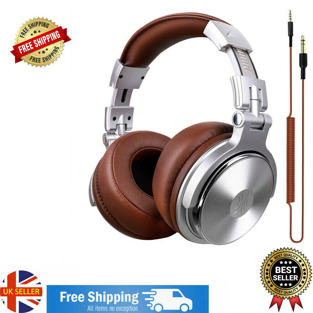 Oneodio Over Headset Professional Dynamic Original Stereo Wired DJ Headphones UK