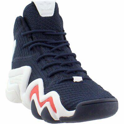 adidas Crazy 8 ADV Primeknit Basketball Shoes - Navy - Mens