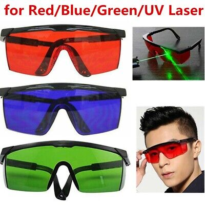 Pro Eye Protection Goggles Laser Safety Glasses Redbluegreen For Various Laser