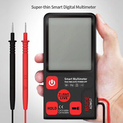 Bside Adms7 Smart Multimeter True Rms Acdc Voltage Resistance Meter Tester L9a9