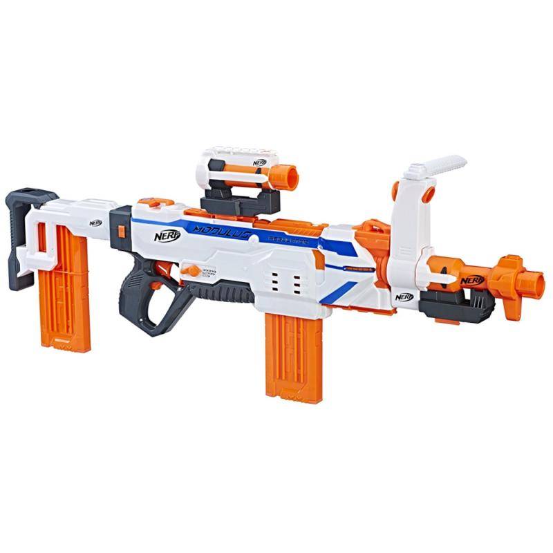 Hasbro Nerf C1294EU4 - N-Strike Modulus Regulator - Voll-Motorisierter Blaster
