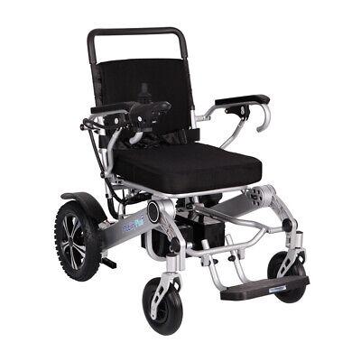 Nuevo Mobilityplus + Ligero Eléctrico Silla Instantáneo Plegable, 24kg, 4mph