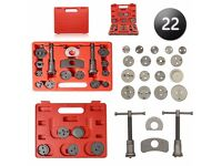 NEW 22pc universal Disc Brake Caliper Piston Rewind Tool Auto Wind Back Car Kit Set