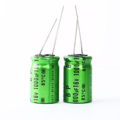 Japan 10pcs Nichicon Muse Es Bp 1000uf 16v 1000mfd Audio Capacitor Caps
