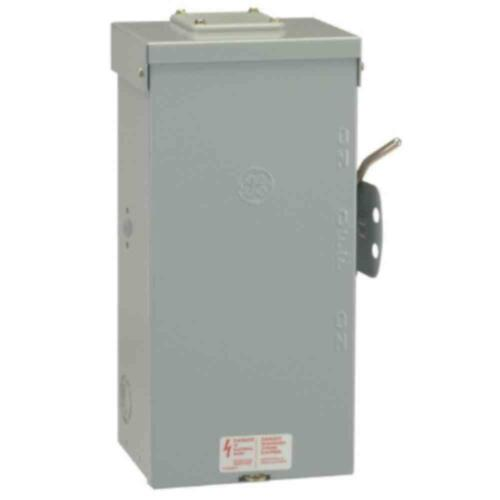 GE Emergency Power Transfer Switch 200-Amp 240-Volt 1-Phases Non-Fused Manual