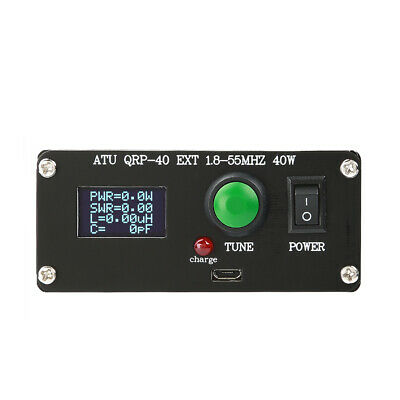 ATU QRP-40w 7*7 Mini Automatic Antenna Tuner For 1-40W Low Power Radio Stations