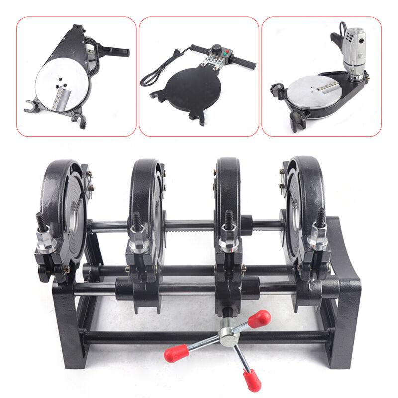 Hand-push Pipe Welder 63-160MM PE PPR PB PVDF HDPE Fusion Welding Machine 1.1KW