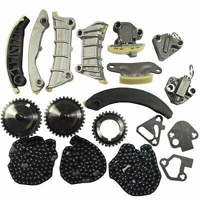 Timing Chain Kit For 07-09 Buick Cadillac CTS SRX STS Saab Suzuki 3.6L DOHC 24V