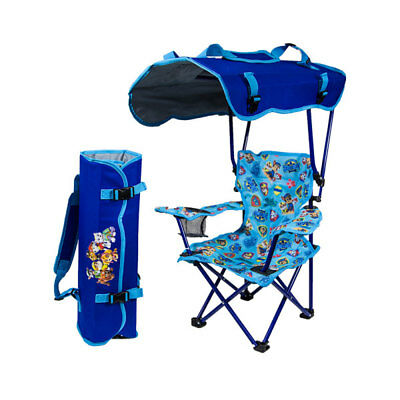 Kelsyus Kids Paw Patrol Portable Folding Backpack Kid's Canopy Lounge Chair
