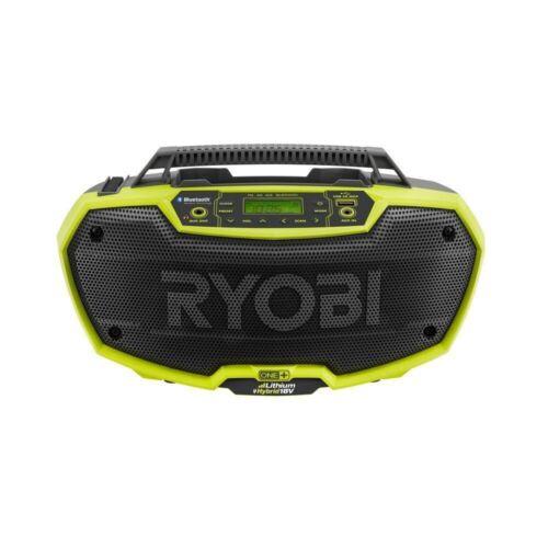RYOBI One+ P746 18VOLT Stereo Radio Dual Power Bluetooth - Free Ship