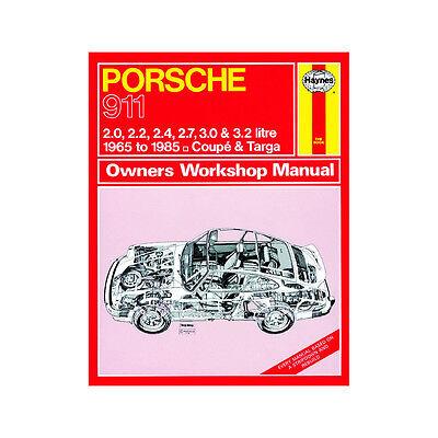 Porsche 911 2.0 2.2 2.4 2.7 3.0 3.2 Petrol 65-85 (up to C Reg) Haynes Manual