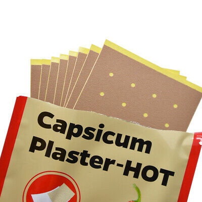 40Pcs Pain Relieving Stickers Capsicum Plaster Patch Medical Joints Pain Relief