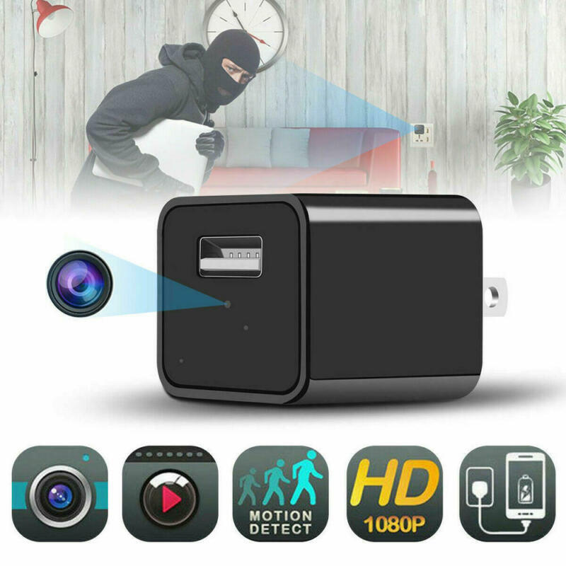 1080P HD Mini IP Hidden Spy Camera Security Cam Network Moni