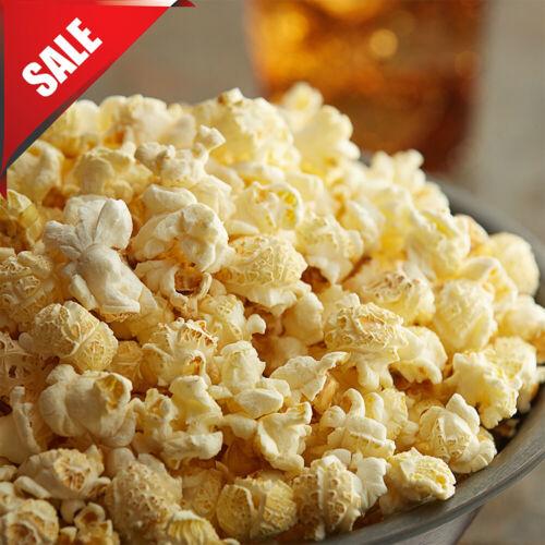 50 lb. Extra Large Mushroom Popcorn Kernels for Carnival Show Food Cinema Snack