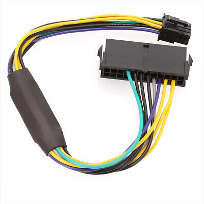 24 Pin to 8 Pin ATX Power Cable Adapter For DELL Optiplex...