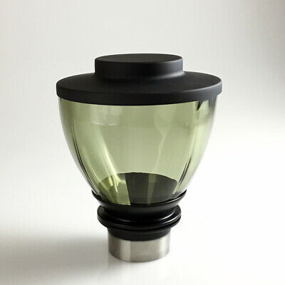 Torr Toys Glass Hopper 300 Olive Black Bohemia Glass For Mazzer Mini Mini E