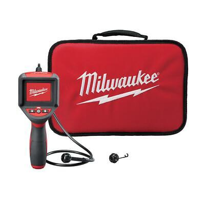 Milwaukee Inspection Camera Scope Kit M-spector 3 Ft. Pipe Guide Attachment