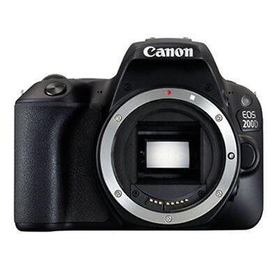 New Canon EOS 200D/ Rebel SL2 Body Only DSLR - Black [KIT BOX] Multi-language
