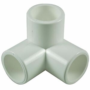 3 Way 15mm Pvc Pipe Cage Fittings Connectors For Furniture
