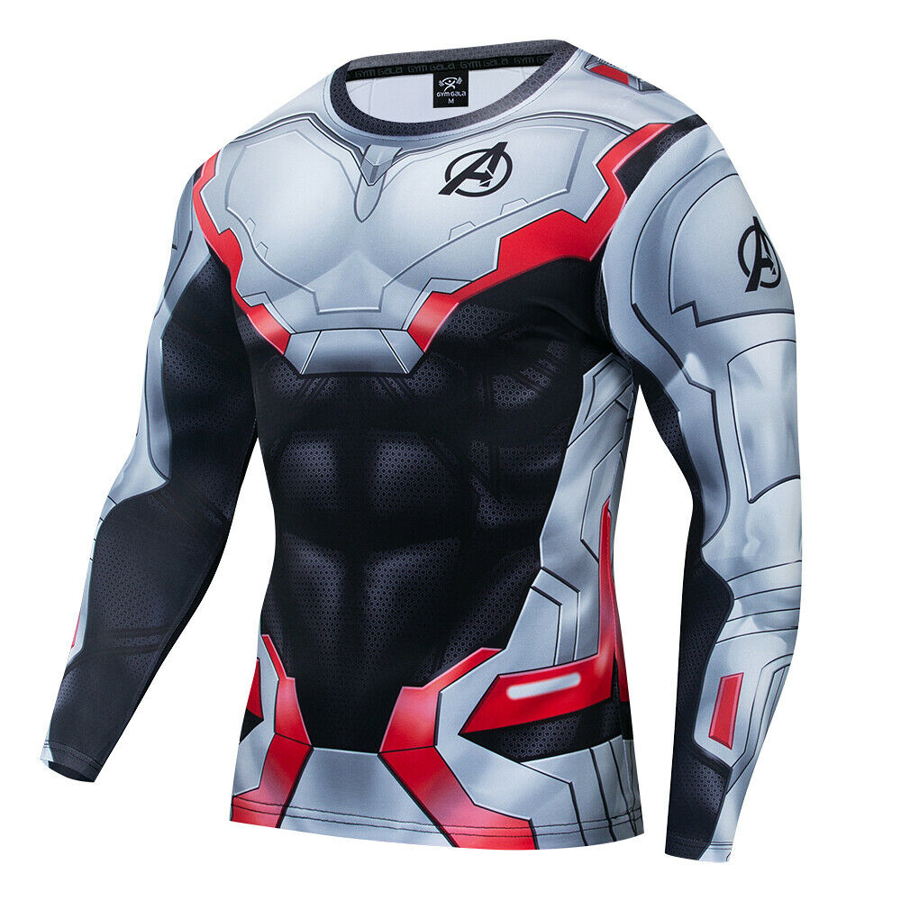 New Marvel 3D Printed Superhero Costume Cosplay Compression