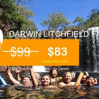 $83 - DARWIN Litchfield national park waterfalls