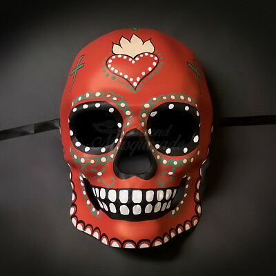 Day of the Dead Mask - Dia de los Muertos Masquerade Mask for Men - Masks Day Of The Dead