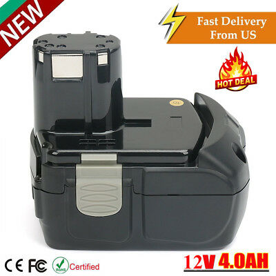 18V 4.0Ah Li-ion Battery For Hitachi EBM1830 BCL1820 BCL1815 Lithium-ion drill