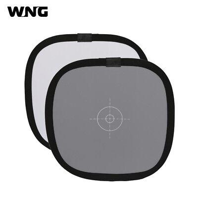 "Grey/White Balance Card 18% Gray DSLR Camera Custom Color Calibration Board 12"""