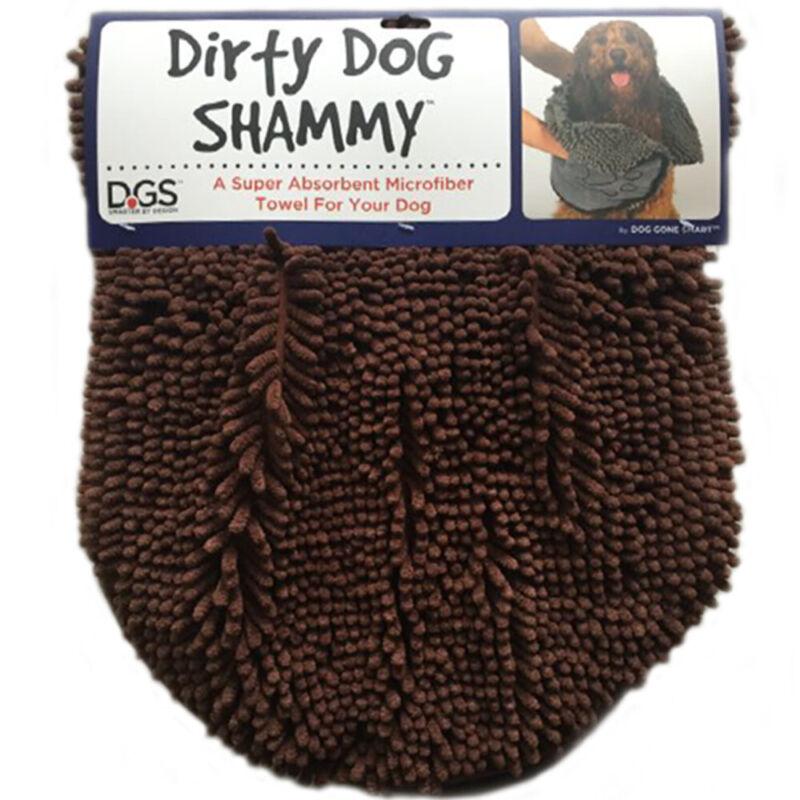Dirty Dog Shammy Towel Brown Absorbent Microfiber