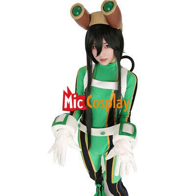 Hero Costumes (My Hero Academia Froppy Tsuyu Asui Cosplay Jumpsuit Costume Fighting)