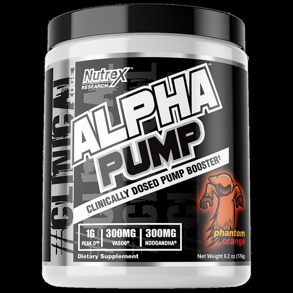 PREWORKOUT NO Alpha Pump / Enhancing Pre-Workout 300MG / FRE