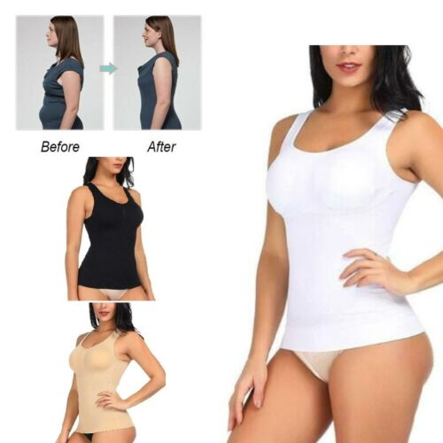 Sexy Women Body Shaper Bra Tank Top Slimming Camisole Spandex Shirt Hot 5 Size Clothing, Shoes & Accessories