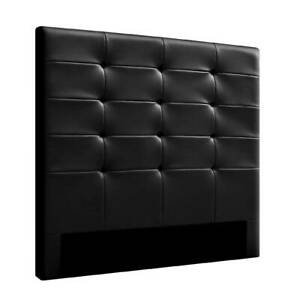 Artiss BENO Double Size Bed Head Headboard Bedhead Leather Base F Adelaide CBD Adelaide City Preview