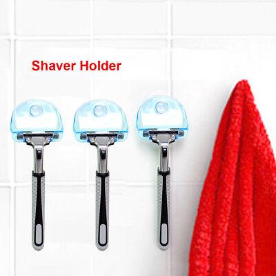 Shaver Toothbrush Holder Washroom Wall Sucker Suction Cup Hook Razor Bathroom ()